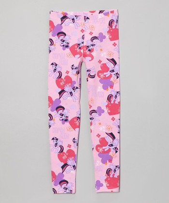 Pink My Little Pony Leggings - Girls