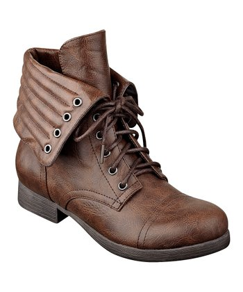 Dark Brown Candie Boot