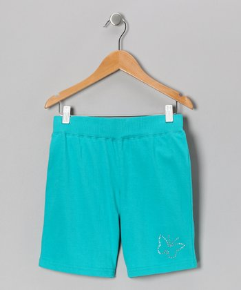 Bluebird Butterfly Bermuda Shorts