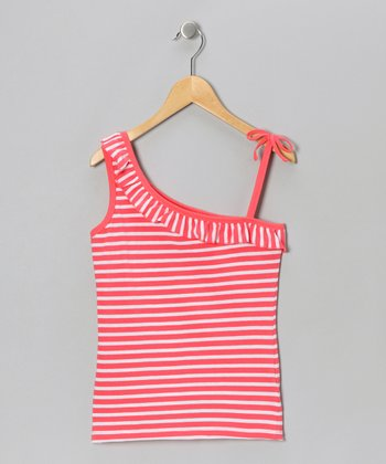 DuBarry Stripe Asymmetrical Tank