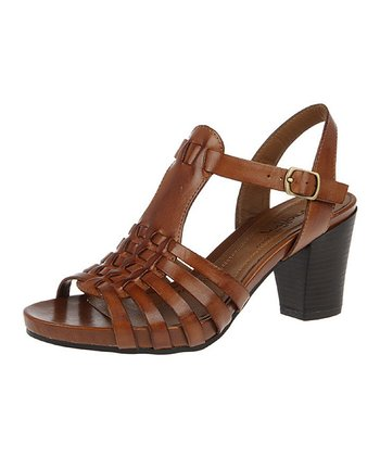 Saddle Tan Gamarra Sandal