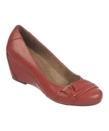 Garnet Ellie Wedge Pump