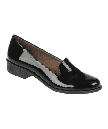 Black Patent Villagio Loafer
