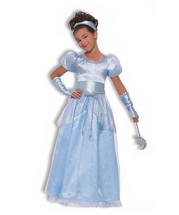 Blue Princess Dress-Up Set - Girls