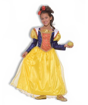 Yellow Princess Dress-Up Set - Girls