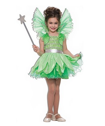 Green Sprite Dress - Girls