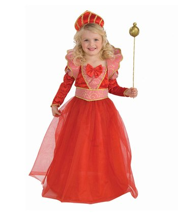 Red Ruby Queen Dress-Up Outfit - Toddler & Girls