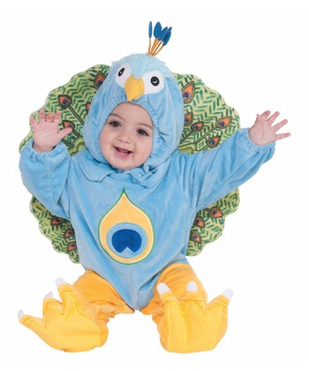 Aqua Peacock Dress-Up Set - Infant & Toddler