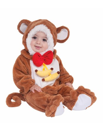 Brown Monkey Dress-Up Set - Infant & Toddler
