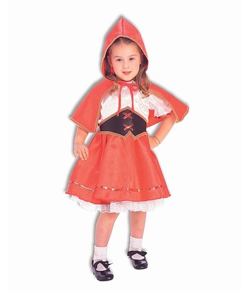 Deluxe Lil' Red Riding Hood Dress-Up Outfit - Toddler & Kids
