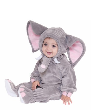 Gray Elephant Dress-Up Set - Infant & Toddler