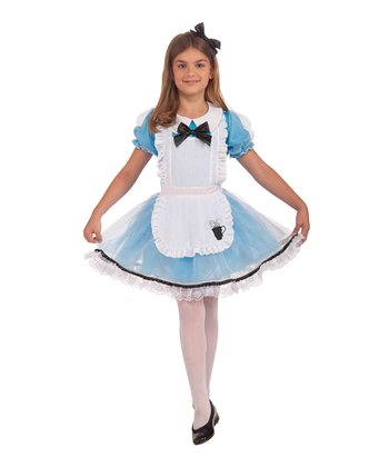 Blue Curious Girl Dress-Up Set - Girls