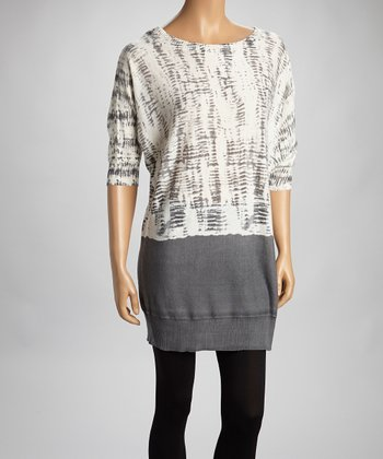 Ivory Sweater Tunic