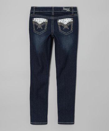Courage Wash Skinny Jeans - Girls