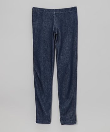 Blue Denim Jegging - Toddler & Girls