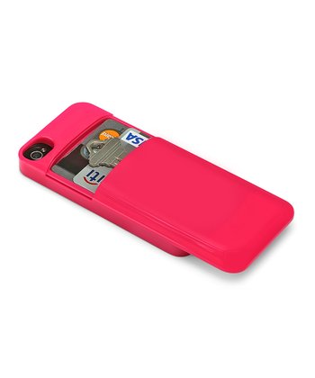 Pink Credit Card Case for iPhone 4/4s