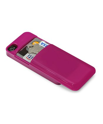 Purple Credit Card Case for iPhone 4/4s