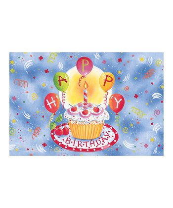'Happy Birthday' Floor Mat