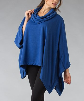 Royal Cowl Neck Poncho