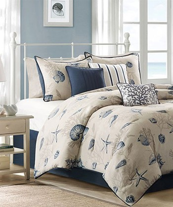 Blue Beach Aarika Comforter Set