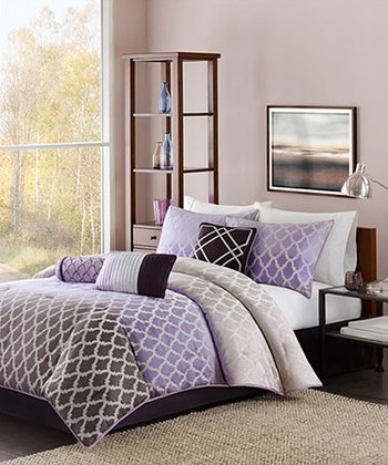 Purple Ombré Ally Comforter Set