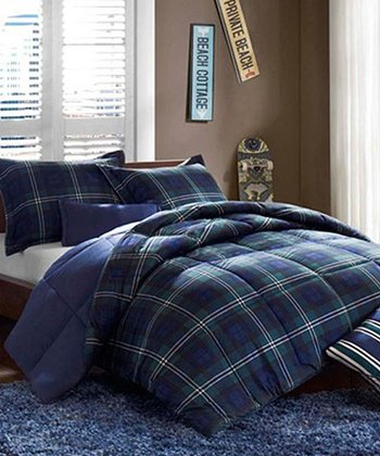 Navy Hunter Comforter Set