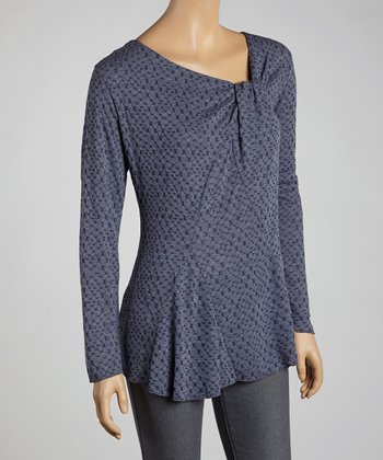 Indigo Gathered Top - Women