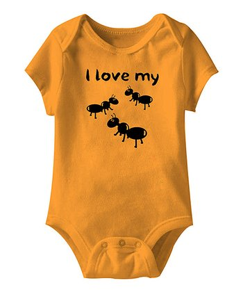 Mandarin 'I Love My Aunts' Bodysuit - Infant