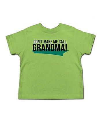 Grass 'Don't Make Me Call Grandma' Tee - Toddler & Kids