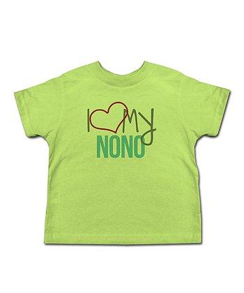 Key Lime 'I Love My Nono' Tee - Toddler & Kids