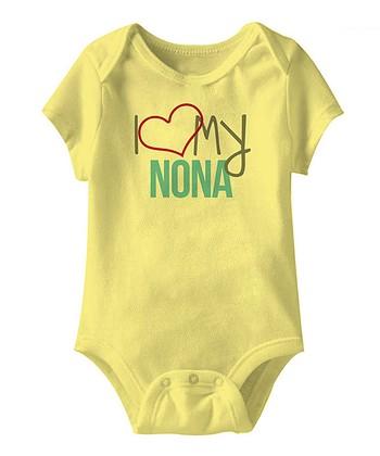 Banana 'I Love My Nona' Bodysuit - Infant