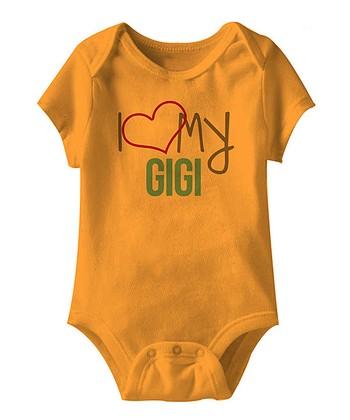 Mandarin 'I Love My Gigi' Bodysuit - Infant
