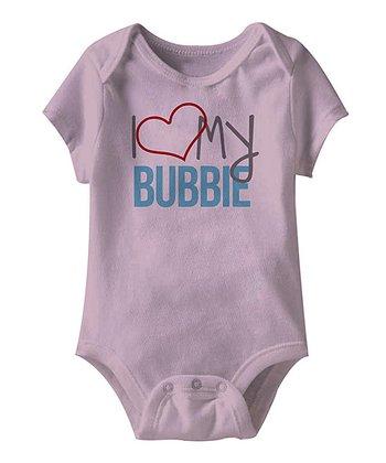 Lilac 'I Love My Bubbie' Bodysuit - Infant