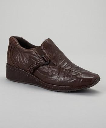 Antia Shoes Mocha Leather Gili Shoe