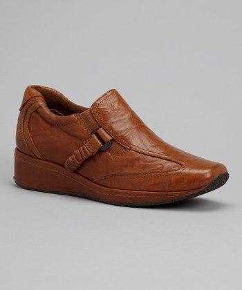 Antia Shoes Cognac Leather Gili Shoe