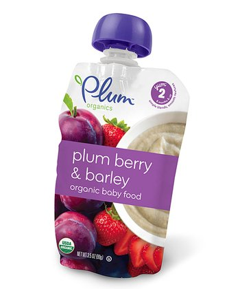 Baby Stage Two Plum, Berry & Barley - Set of 12