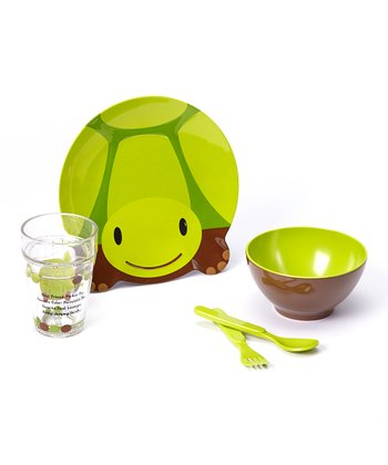Toby Turtle Five-Piece Dining Set