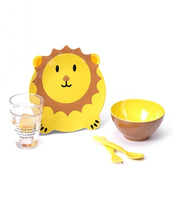 Leonard Lion Five-Piece Dining Set