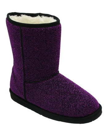 Purple & Black Frost Boot