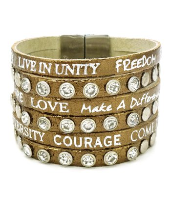 Bronze 'Come Together' Bracelet