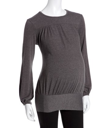 Juliet Dream Heather Brown Ashbury Maternity Top