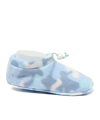 Blue Paw Warmer Slipper