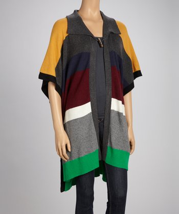Yellow & Green Stripe Cardigan