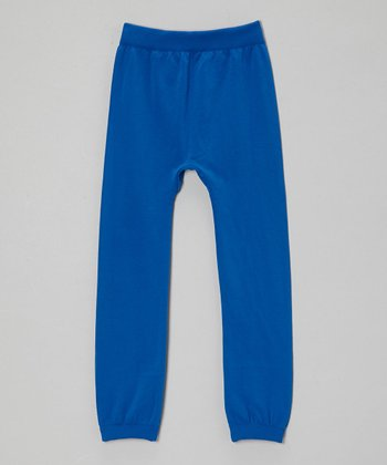 Royal Fleece Leggings - Girls