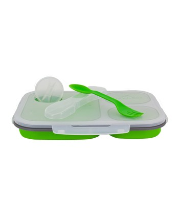 Green Large Eco Lunch Box