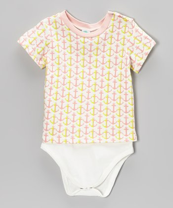 Pink Lemonade Anchor Bodysuit