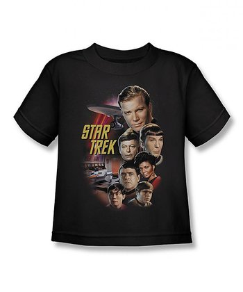 Black Classic 'Star Trek' Tee - Toddler & Boys