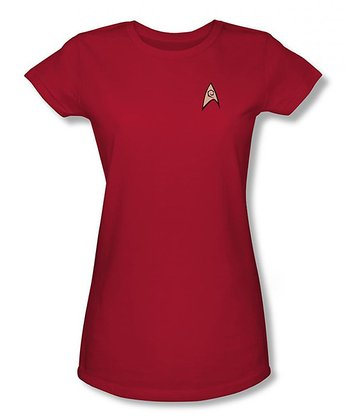 Red Star Trek Engineer Sheer Tee - Women & Plus