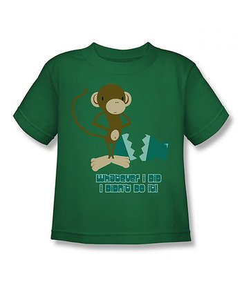 Kelly Green 'I Didn't Do It' Tee - Toddler & Boys