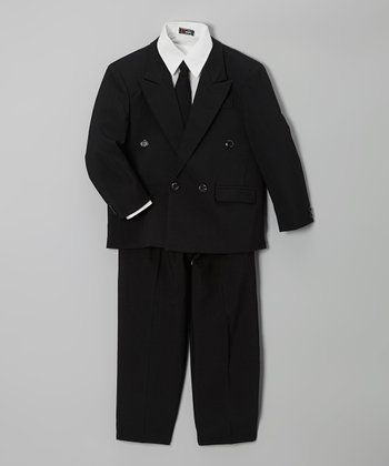 Black Suite Set - Boys